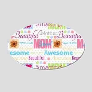 A Mothers Attributes 20x12 Oval Wall Decal