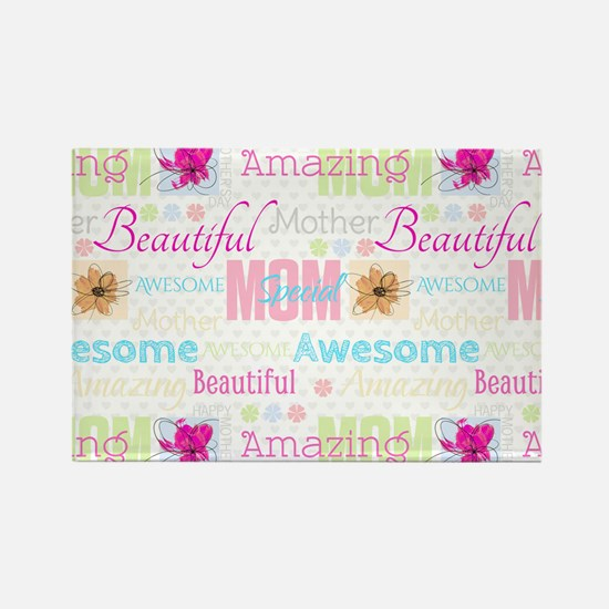 Mothers Day Rectangle Magnet (100 pack)