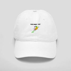 Custom Skier Baseball Cap