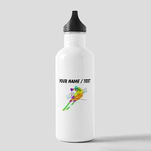 Custom Skier Water Bottle