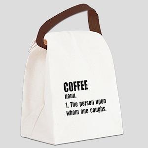 Coffee Definition Canvas Lunch Bag
