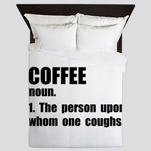 Coffee Definition Queen Duvet