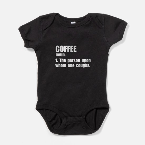 Coffee Definition Baby Bodysuit