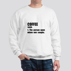 Coffee Definition Sweatshirt