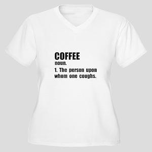 Coffee Definition Plus Size T-Shirt