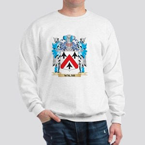 Walsh Coat of Arms - Family Crest Sweatshirt