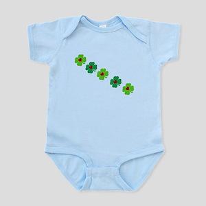 Lucky Irish Clover Body Suit