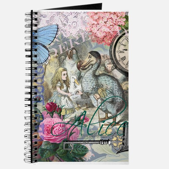 Alice in Wonderland Dodo Vintage Pretty Collage Jo