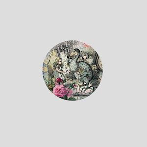 Alice in Wonderland Dodo Vintage Pretty Collage Mi
