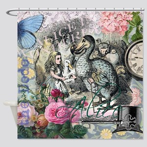 Alice in Wonderland Dodo Vintage Pretty Collage Sh