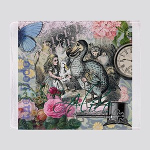 Alice in Wonderland Dodo Vintage Pretty Collage Th