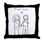 True Love Throw Pillow