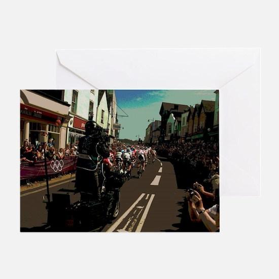 Cool Biker images Greeting Card