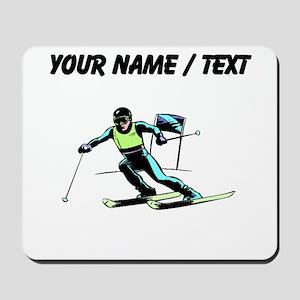 Custom Slalom Racer Mousepad