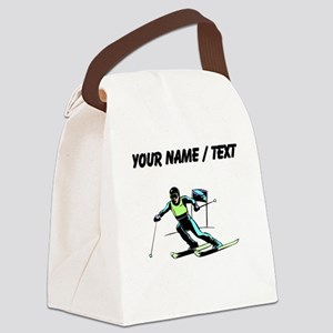 Custom Slalom Racer Canvas Lunch Bag
