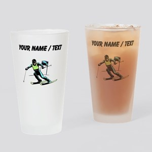 Custom Slalom Racer Drinking Glass