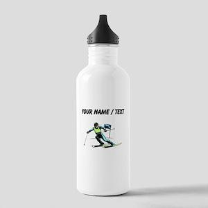Custom Slalom Racer Water Bottle