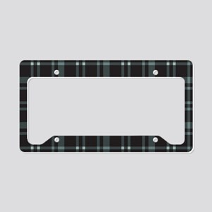 Plaid-18-2 License Plate Holder