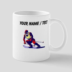 Custom Ski Racer Mugs