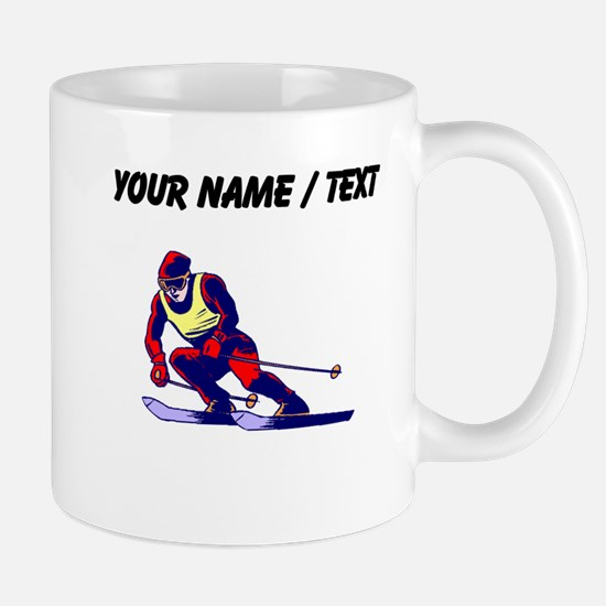 Custom Ski Racer Mugs