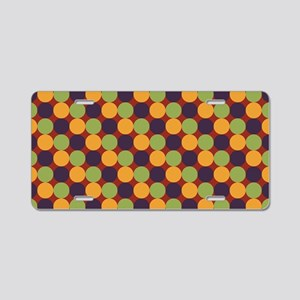 Dots-2-01-2 Aluminum License Plate