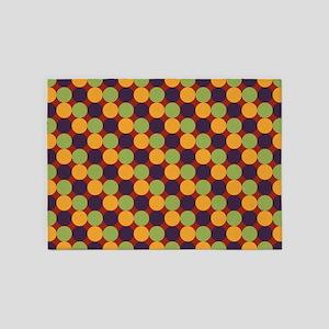 Dots-2-01-2 5'x7'Area Rug
