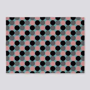 Dots-2-08-2 5'x7'Area Rug