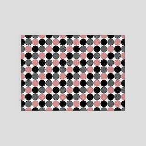 Dots-2-08 5'x7'Area Rug