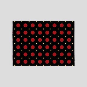 Dots-2-44 5'x7'Area Rug