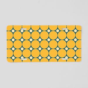 Dots-2-39 Aluminum License Plate