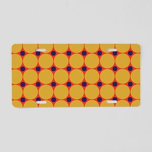 Dots-2-38 Aluminum License Plate