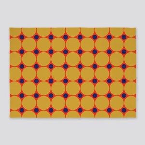 Dots-2-38 5'x7'Area Rug