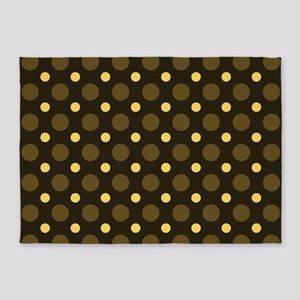 Dots-2-36 5'x7'Area Rug