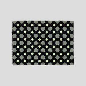 Dots-2-35 5'x7'Area Rug