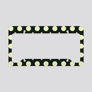 Dots-2-31 License Plate Holder