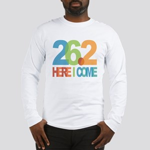 26.2 - Here I come Long Sleeve T-Shirt
