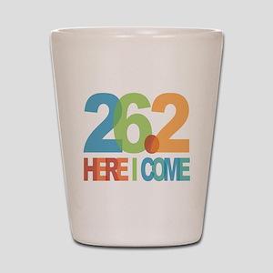 26.2 - Here I come Shot Glass
