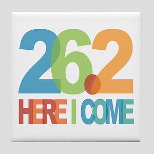 26.2 - Here I come Tile Coaster