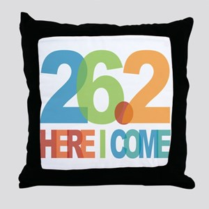26.2 - Here I come Throw Pillow