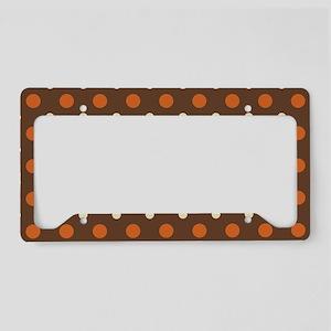 Dots-2-27 License Plate Holder