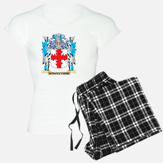 Wawrzyniak Coat of Arms - F Pajamas