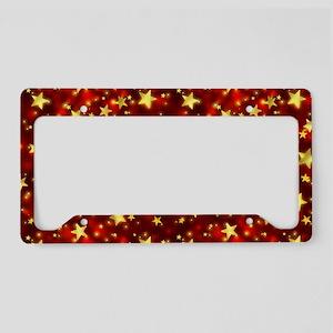 Shining Stars License Plate Holder