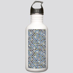 Overlapping Scallops Stainless Water Bottle 1.0L