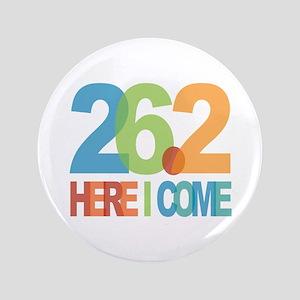 """26.2 - Here I come 3.5"""" Button"""