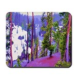 Snake River Yellowstone Photo Art Mousepad (c)