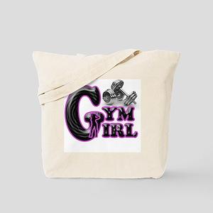 Gym Girl Design 1c Tote Bag