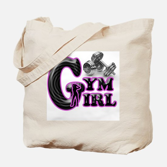 Gym Girl Design 1c Tote Bag