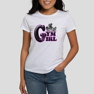 Gym Girl Design 1c Women's T-Shirt