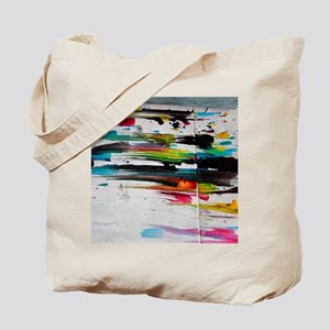 Paint Fight Tote Bag