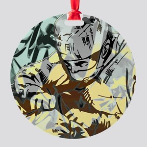 doctor Surgery Round Ornament